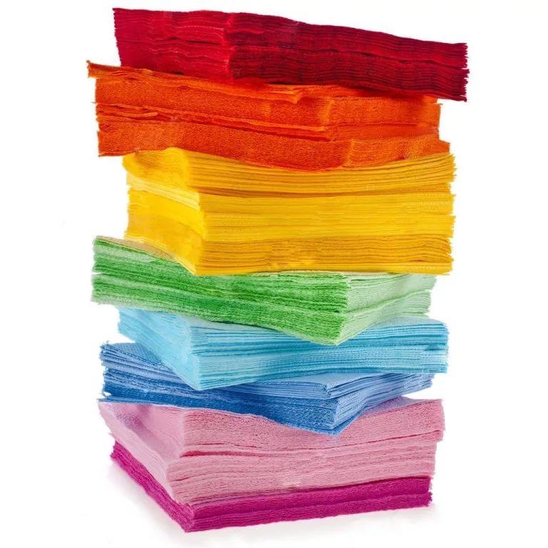 Бумажные салфетки, полотенца и одноразовая посуда