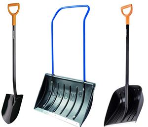 Лопаты для сада и уборки снега