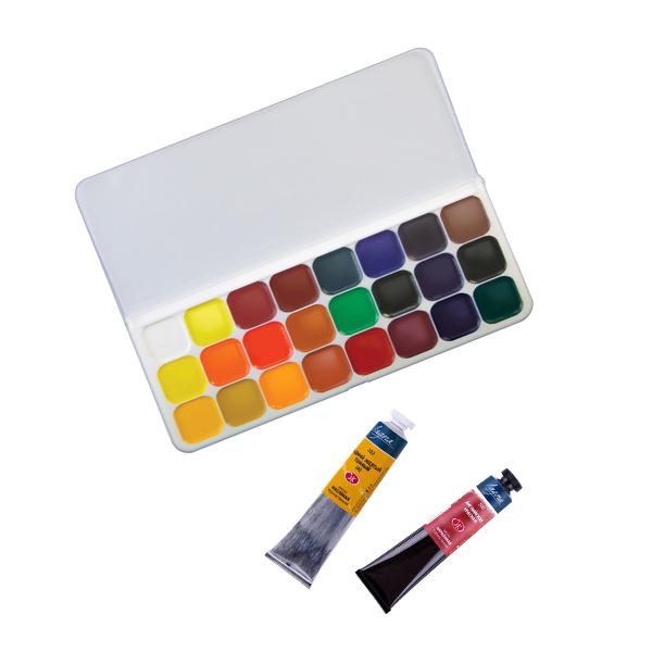 Художественные краски