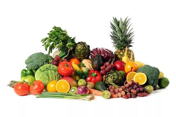 Фрукты, ягоды и овощи