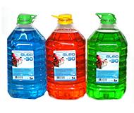 Жидкости для стеклоомывателя и вода