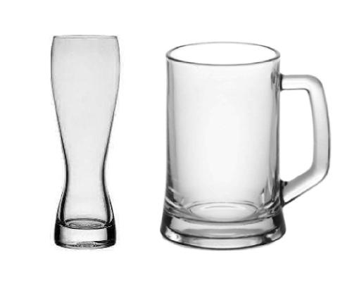 Пивные кружки и бокалы