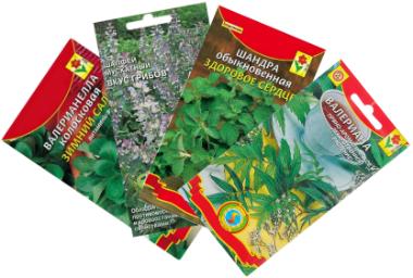 Семена лекарственных трав