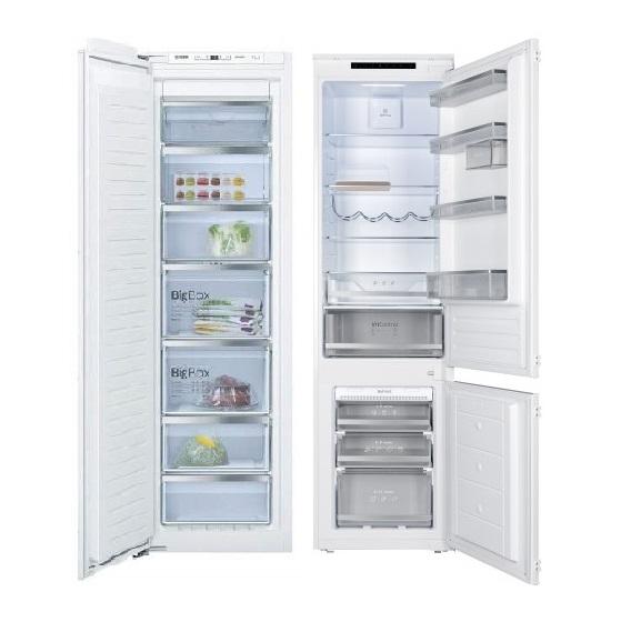 Встраиваемые холодильники и морозильники