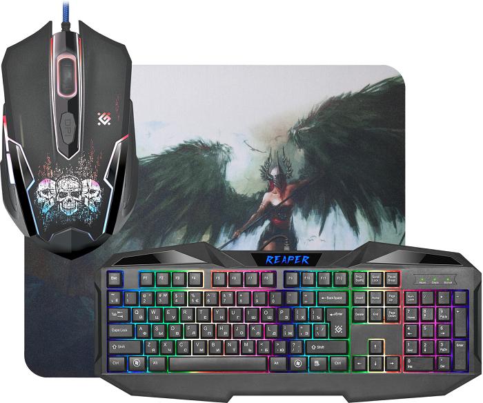 Комплекты игровых клавиатур и мышек