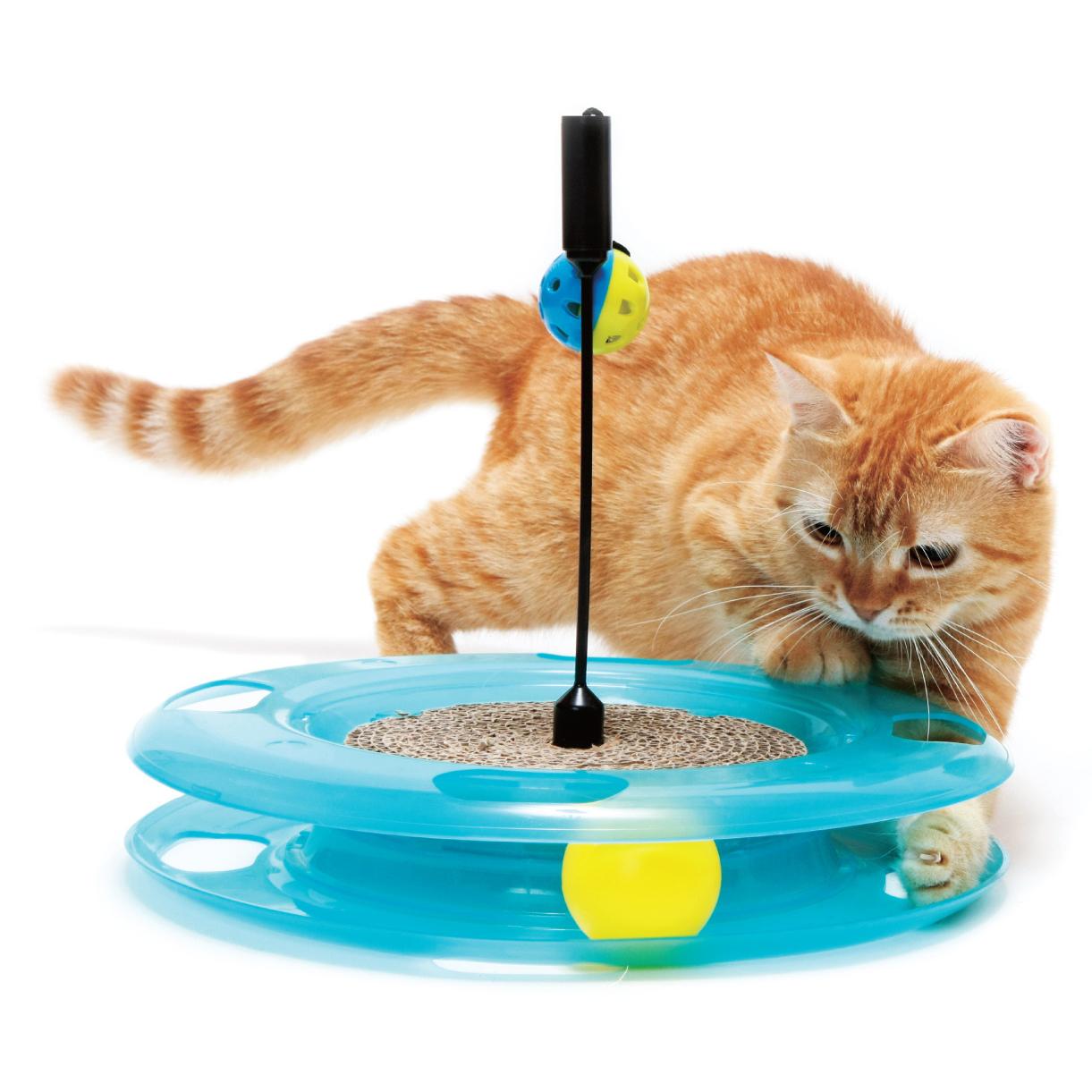 Игрушки и тоннели для кошек