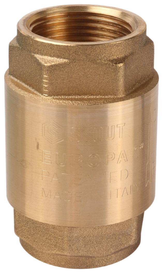Обратные клапаны для труб из сшитого полиэтилена