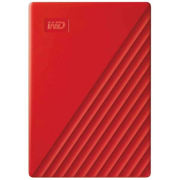 Внешний жесткий диск WD 4Tb My Passport Red (WDBPKJ0040BRD-WESN), купить в Москве, цены в интернет-магазинах на goods.ru