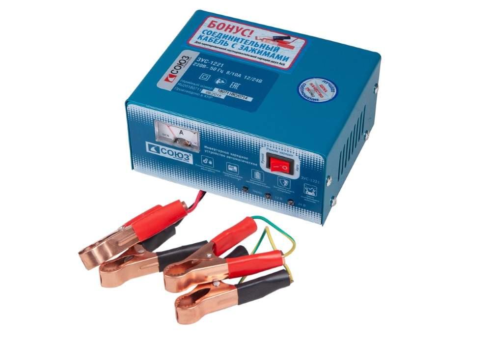 Купить инверторное зарядное устройство СОЮЗ ЗУС-1221, цены в Москве на goods.ru