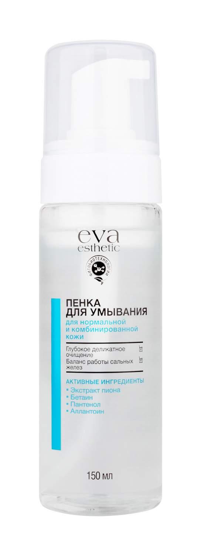 Купить пенка для умывания Eva Esthetic для нормальной и комбинированной кожи 150 мл, цены в Москве на goods.ru