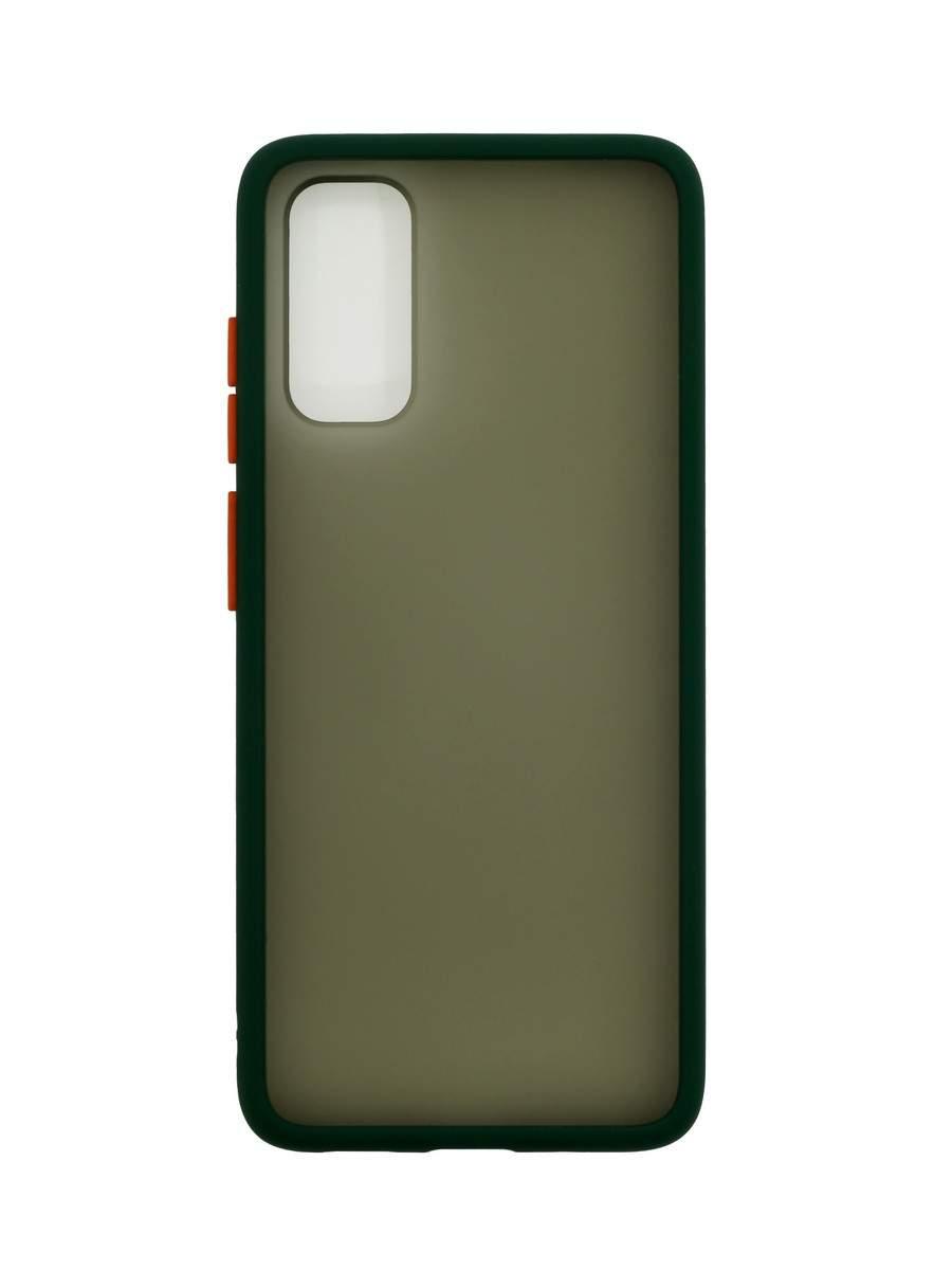Чехол Zibelino Plastic Matte для Samsung Galaxy S20 Green, купить в Москве, цены в интернет-магазинах на goods.ru