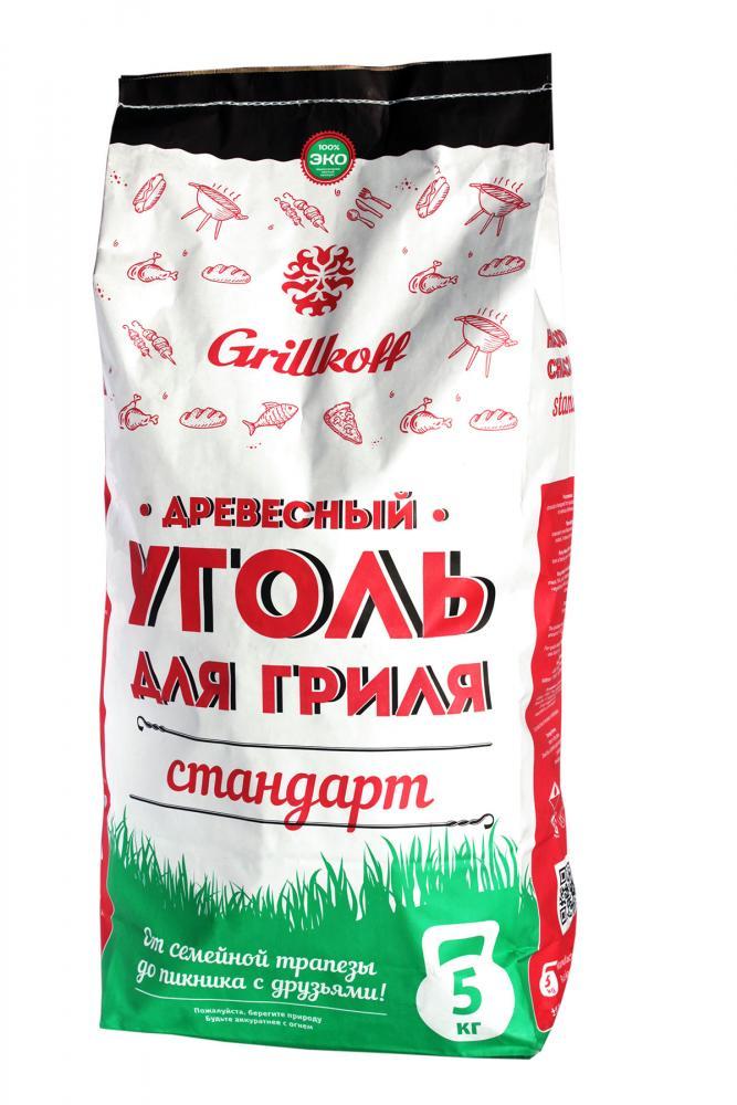 Уголь древесный Грилькофф Стандарт 5 кг купить, цены в Москве на sbermegamarket.ru