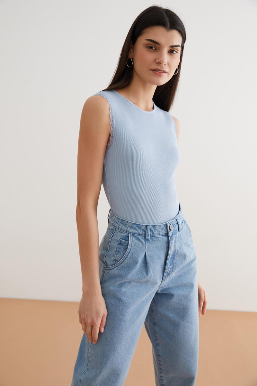 Блуза женская Concept Club 10200140024 голубая XL - купить в Москве - sbermegamarket.ru