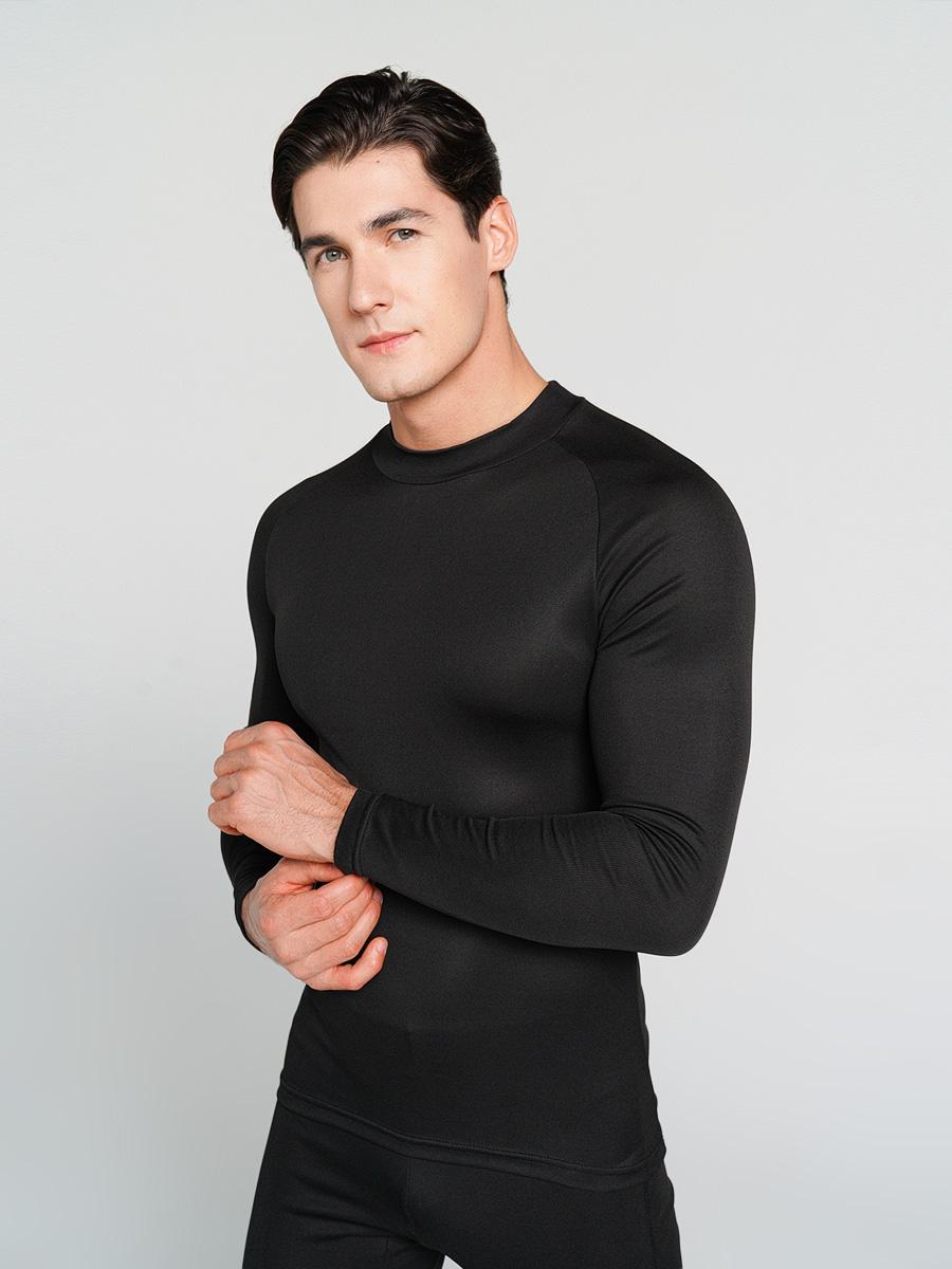 Купить лонгслив мужской ТВОЕ 63006 черный L, цены в Москве на goods.ru