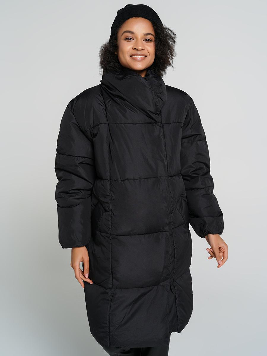 Пуховик-пальто женский ТВОЕ A6554 черный S, купить в Москве, цены в интернет-магазинах на goods.ru