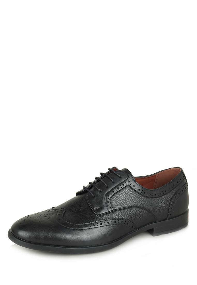 Купить туфли мужские T.Taccardi DSU2020-22 черные 40 RU, цены в Москве на goods.ru