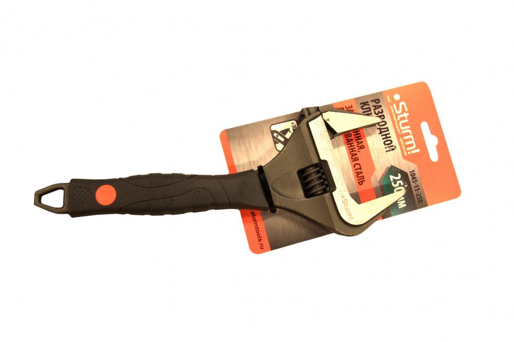 Ключ разводной Sturm! 1045-11-250 купить, цены в Москве на goods.ru