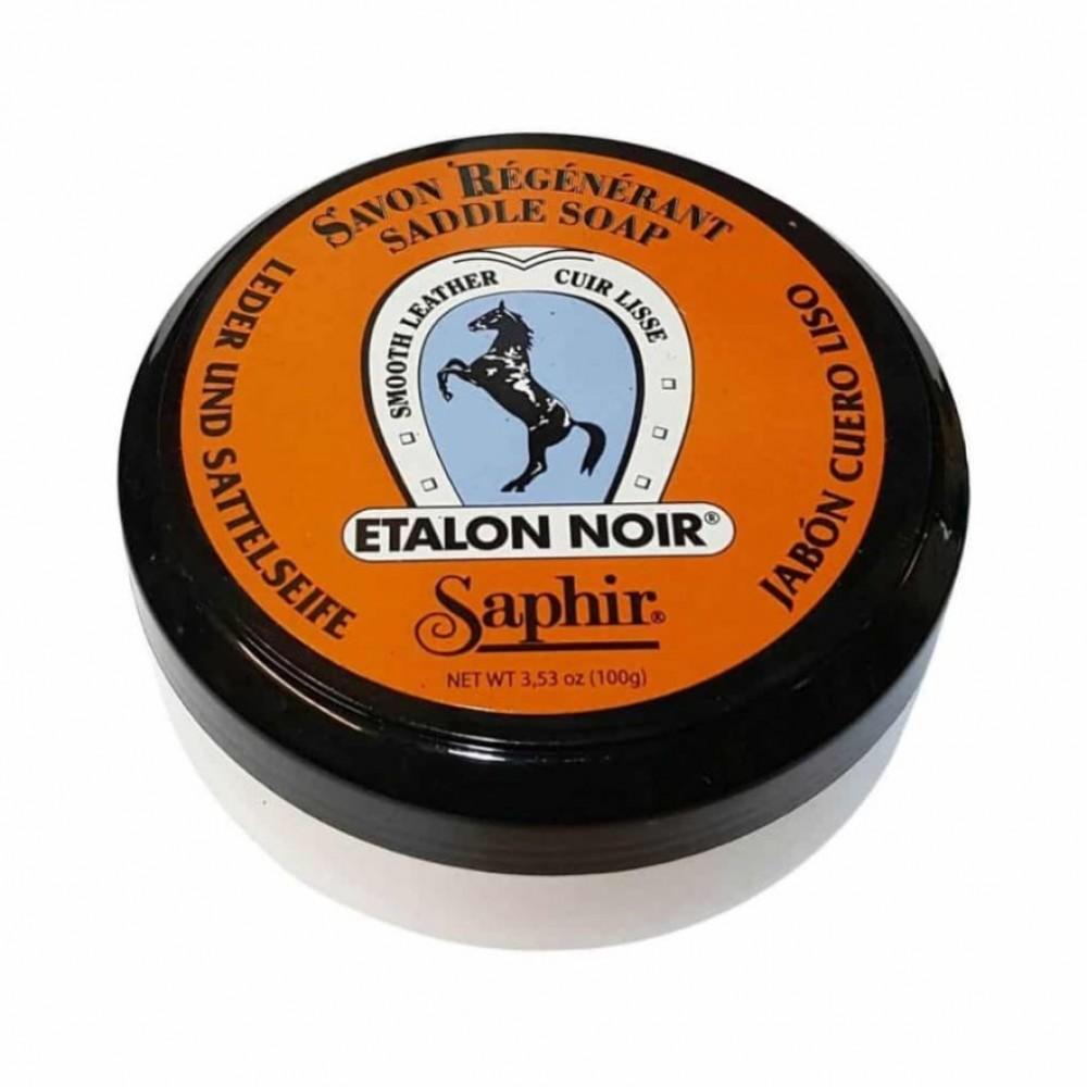 Купить очиститель-мыло для гладкой кожи Saphir Etalon Noir Saddle Soap, цены в Москве на sbermegamarket.ru | Артикул: 600003559768