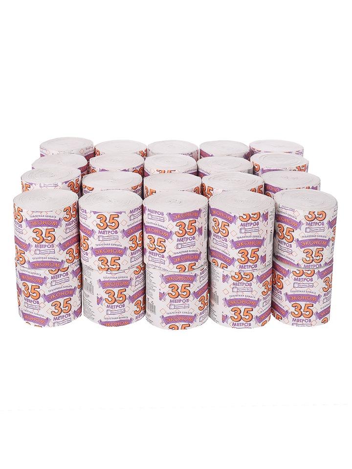 Купить туалетная бумага ЭКОНОМ-33 1 слой, БЕЗ ВТ. 40 рулонов, цены в Москве на goods.ru