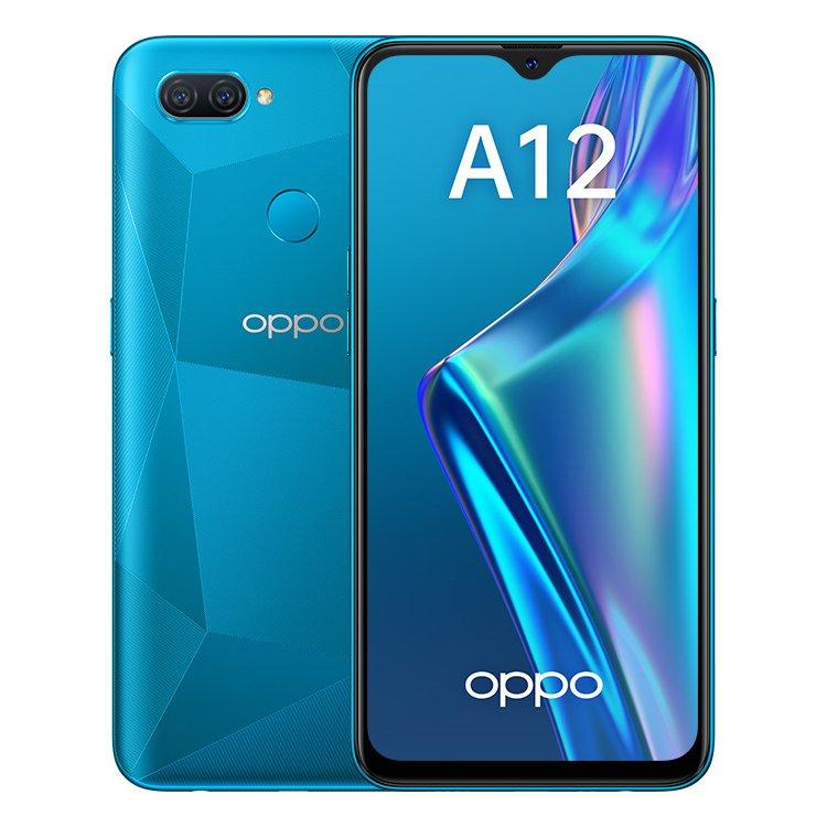 Смартфон Oppo A12 3+32GB Blue (CPH2083) - характеристики, техническое описание - маркетплейс goods