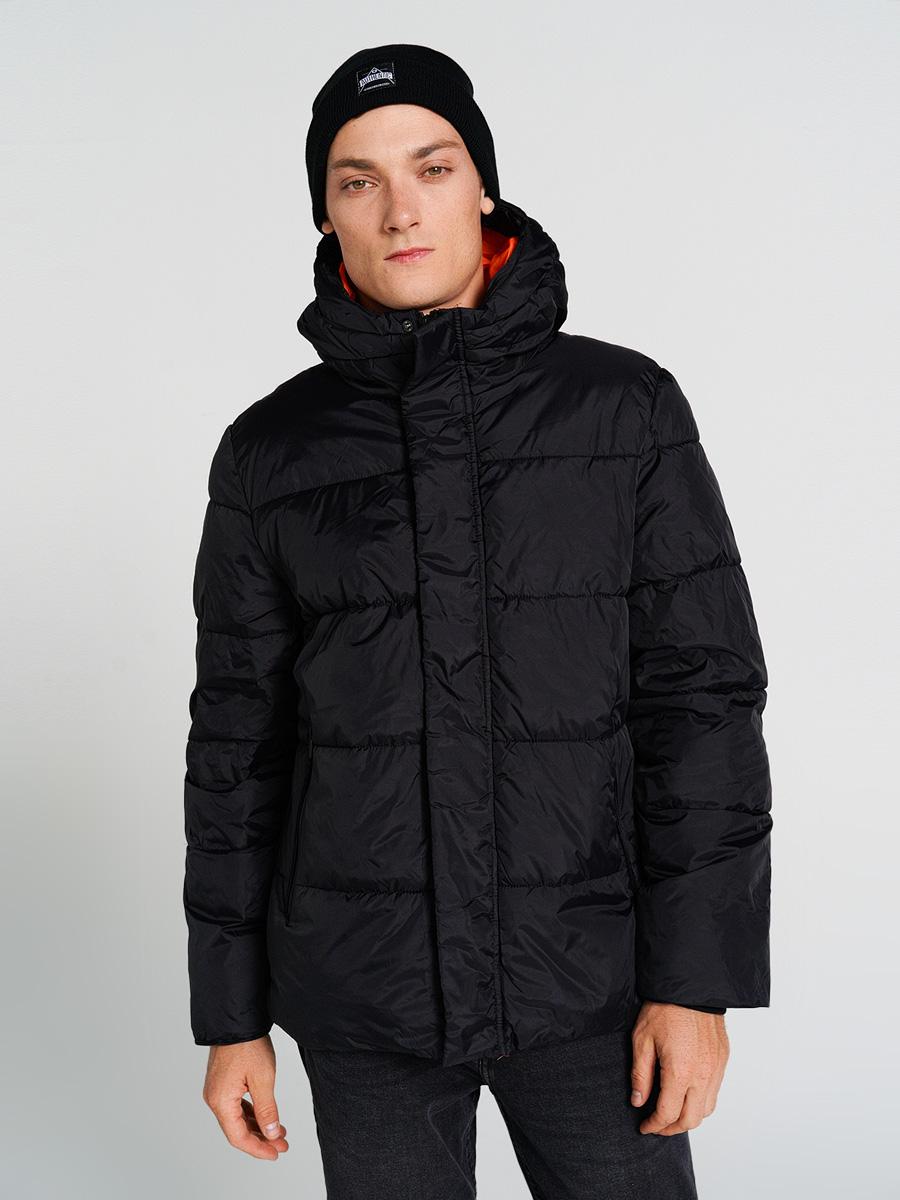 Купить куртка мужская ТВОЕ A6623 черная L, цены в Москве на goods.ru