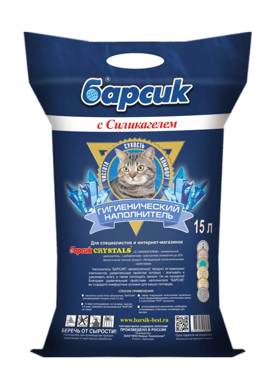Купить впитывающий наполнитель для кошек Барсик Crystals глиняный, силикагелевый, 12 кг, 15 л,, цены в Москве на sbermegamarket.ru | Артикул: 100028373870