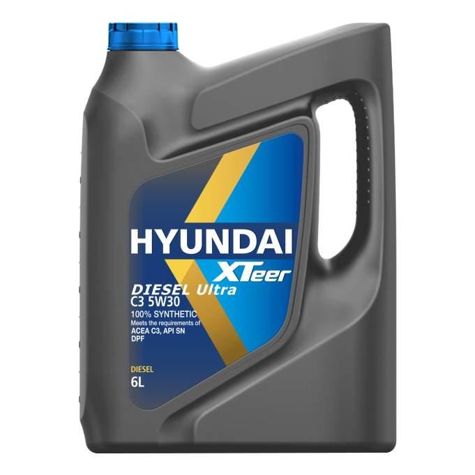Моторное масло Hyundai-KIA Diesel Ultra C3 5W-30 6л купить, цены в Москве на goods.ru