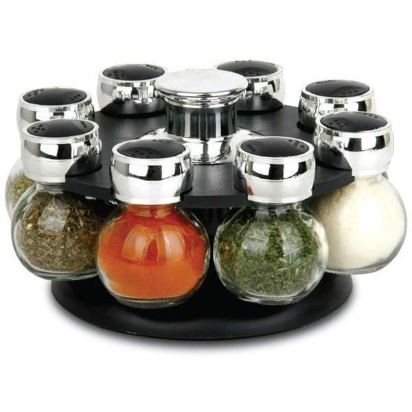 Набор для специй 8 Jars Spice Rack Set купить, цены в Москве на sbermegamarket.ru