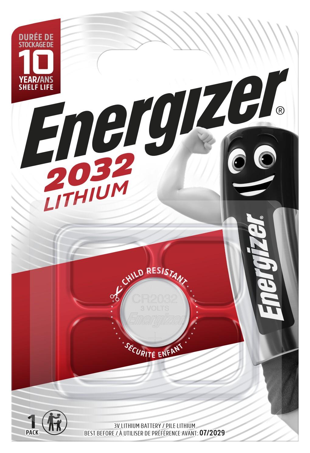 Батарейка Energizer CR2032 1 шт, купить в Москве, цены в интернет-магазинах на goods.ru