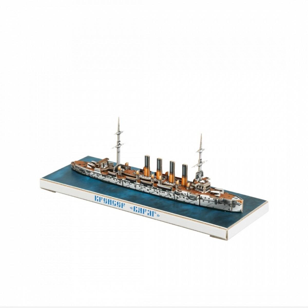 Купить сборная модель из картона Крейсер Варяг, цены в Москве на goods.ru