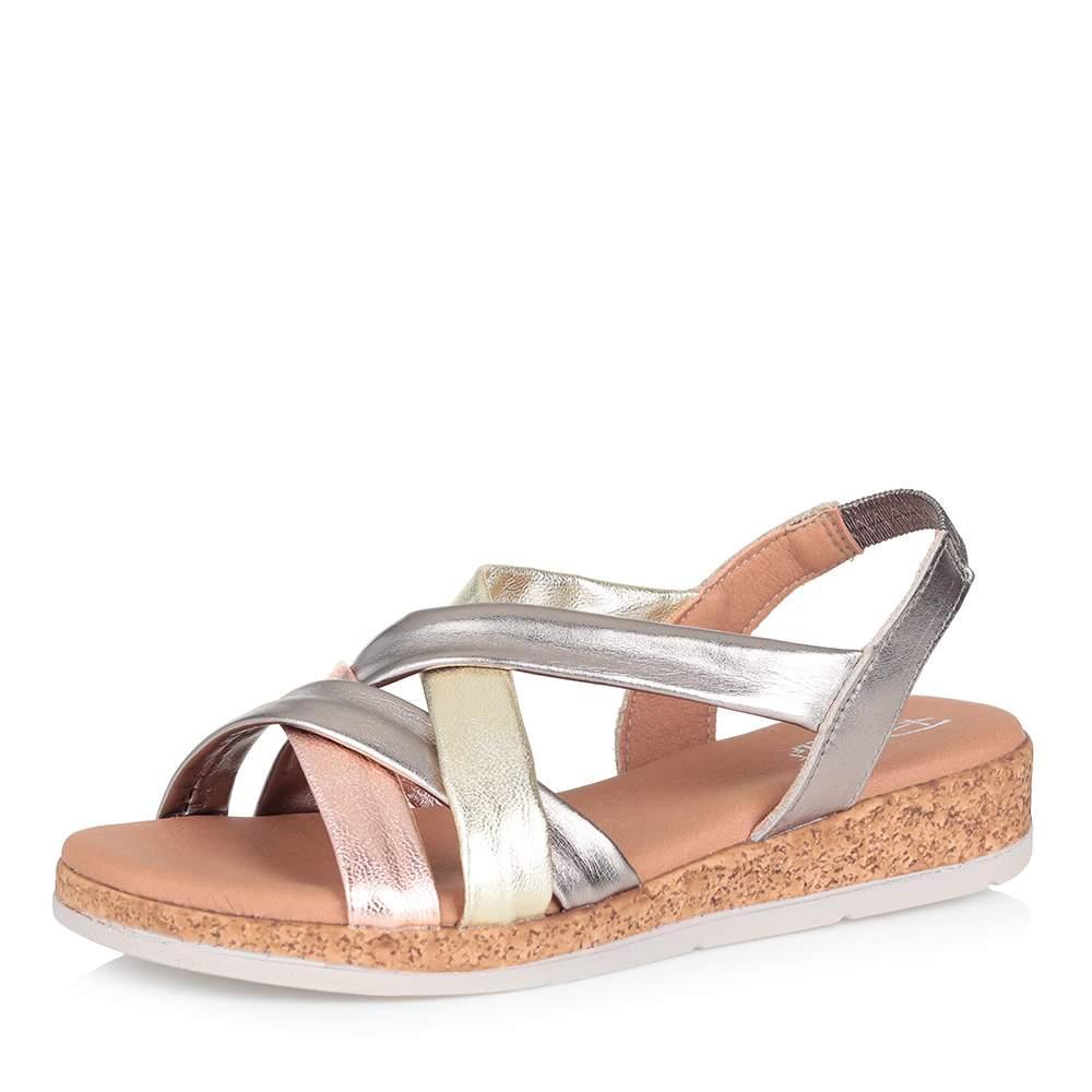 Купить сандалии женские Respect ESA53_3887 золотистые 38 RU, цены в Москве на goods.ru