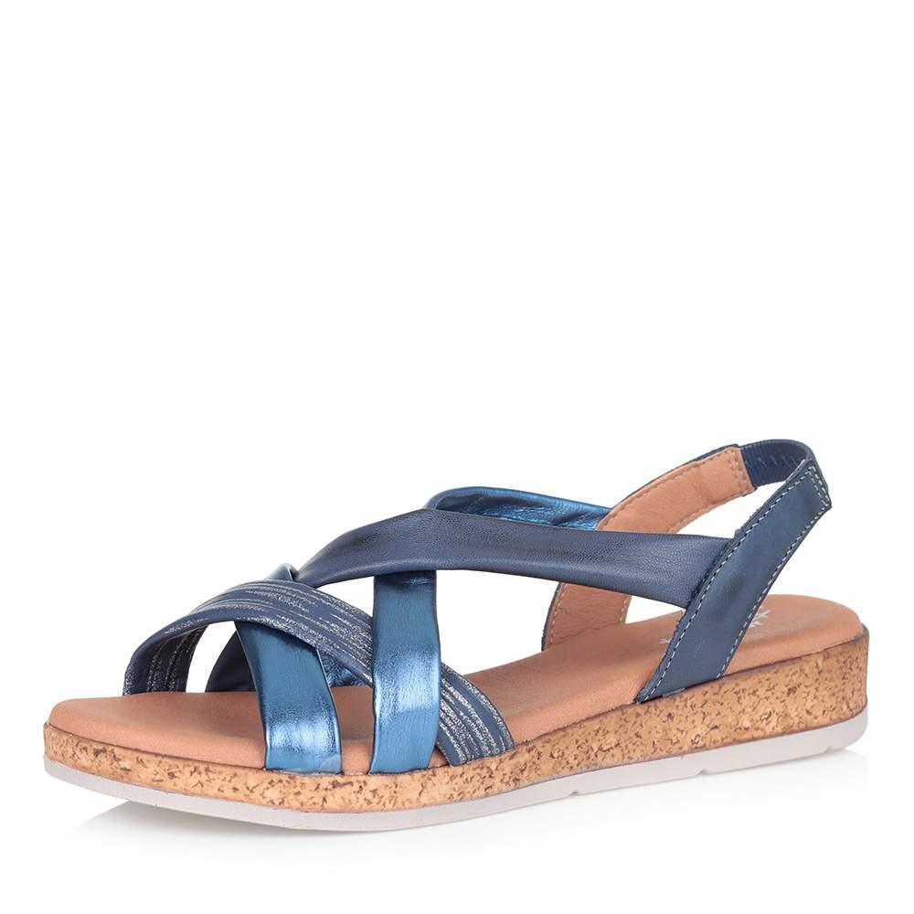 Купить сандалии женские Respect ESA53_3887 синие 39 RU, цены в Москве на goods.ru