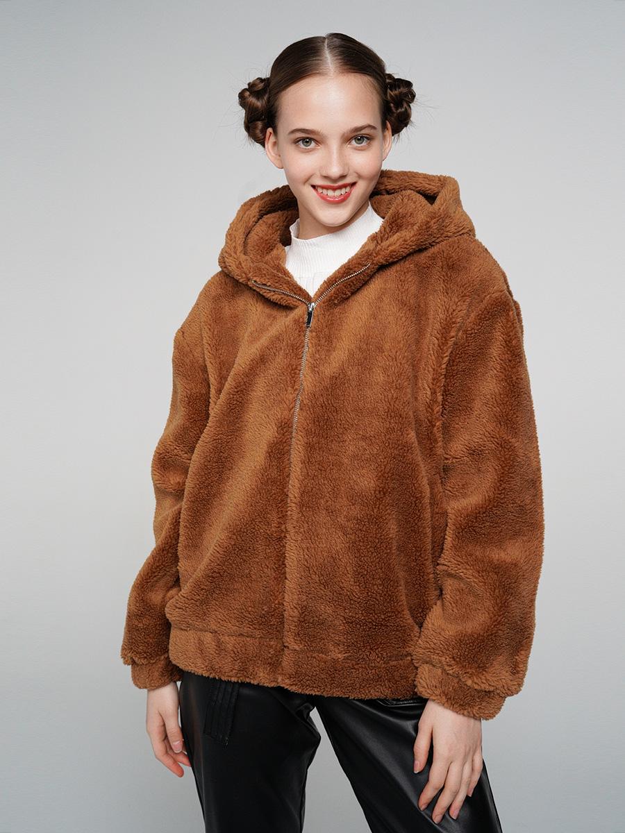 Купить куртка женская ТВОЕ A6551 коричневая XL, цены в Москве на goods.ru
