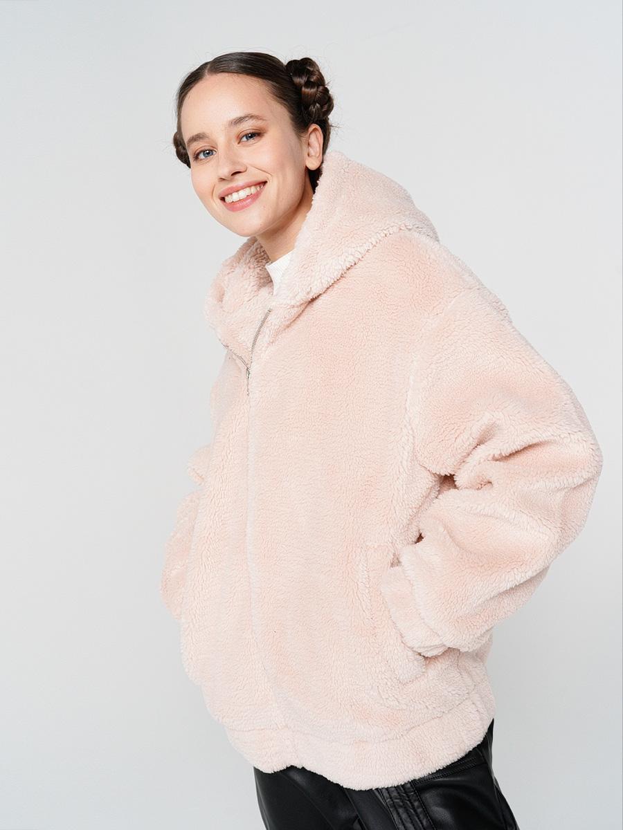 Купить куртка женская ТВОЕ A6551 розовая XL, цены в Москве на goods.ru