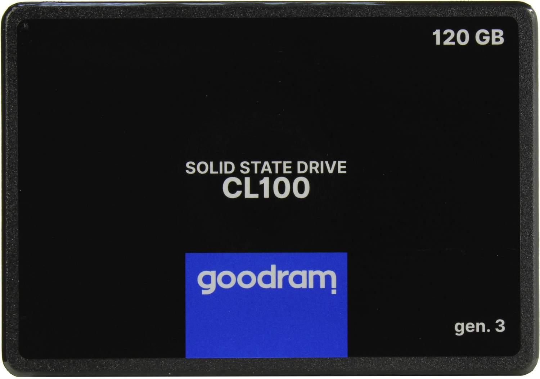 Внутренний SSD накопитель Goodram SSDPR-CL100-120-G3, купить в Москве, цены в интернет-магазинах на goods.ru