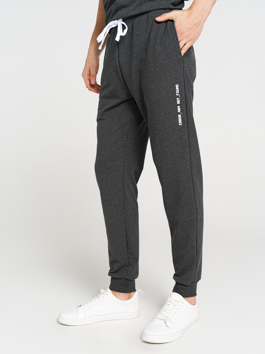 Купить спортивные брюки мужские ТВОЕ 71838 серые M, цены в Москве на goods.ru