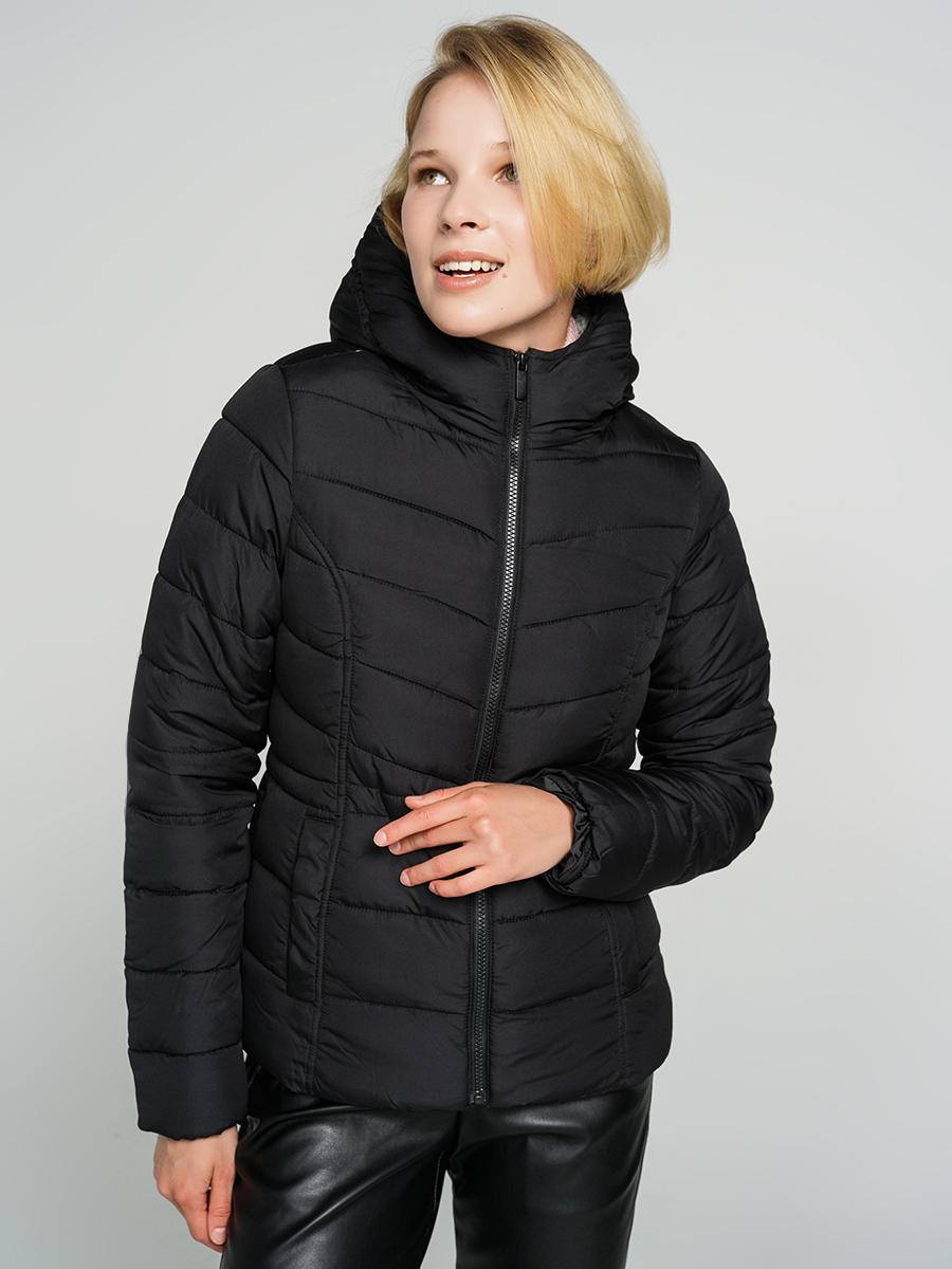 Купить куртка женская ТВОЕ A6567 черная L, цены в Москве на goods.ru