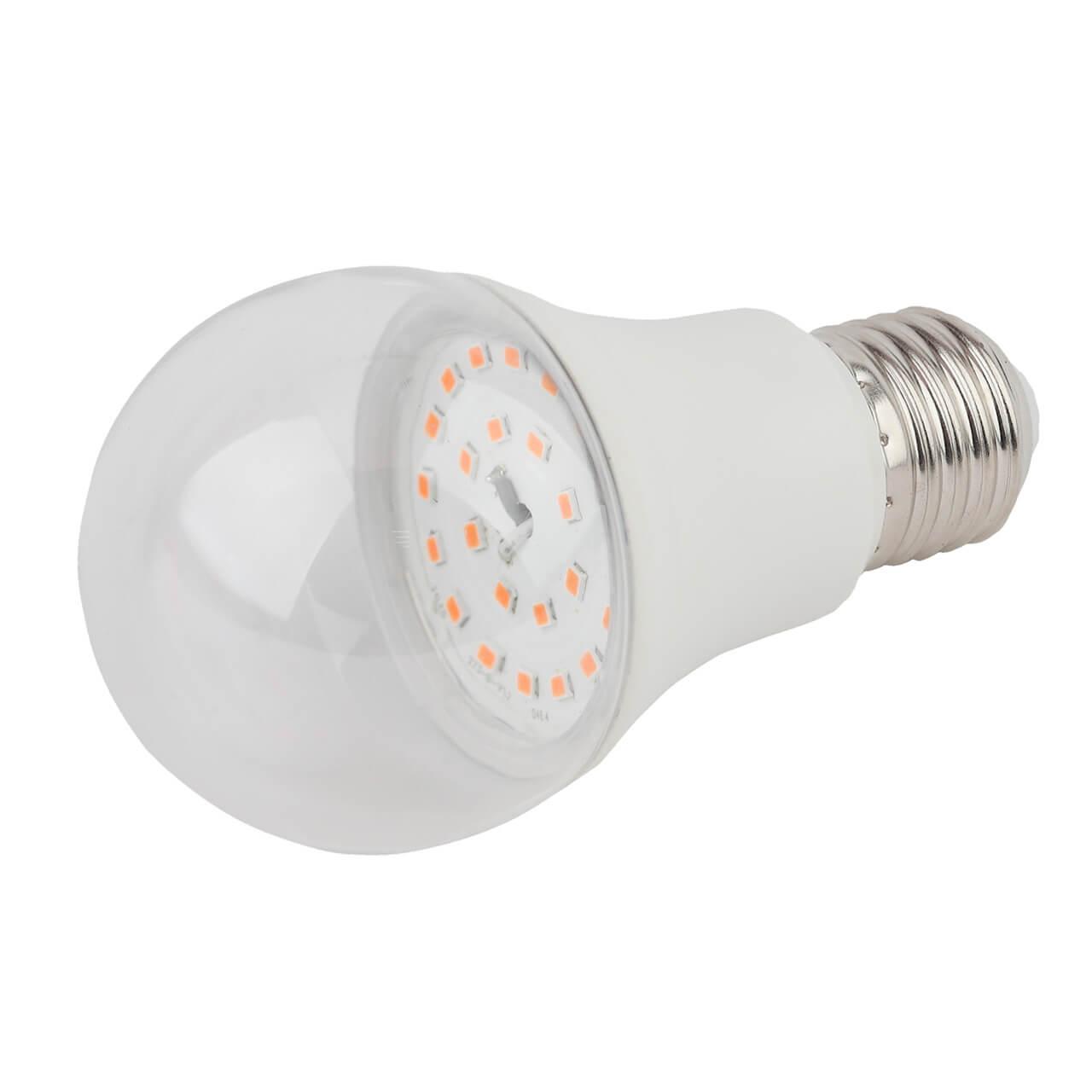 Лампа светодиодная для растений ЭРА E27 11W 2150K прозрачная FITO-11W-Ra90-E27 купить, цены в Москве на goods.ru