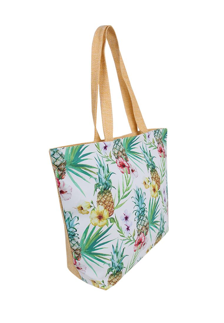 Пляжная сумка женская Daniele Patrici A33674 разноцветная, купить в Москве, цены в интернет-магазинах на goods.ru