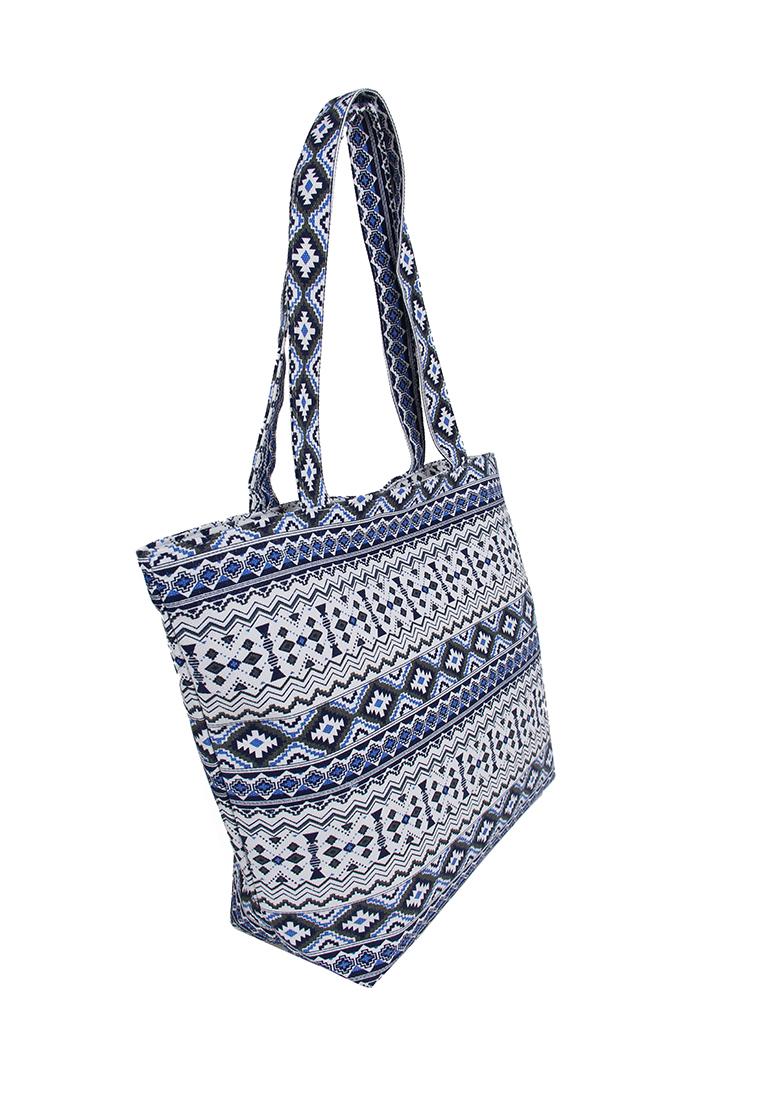 Пляжная сумка женская Daniele Patrici A33270 разноцветная, купить в Москве, цены в интернет-магазинах на goods.ru
