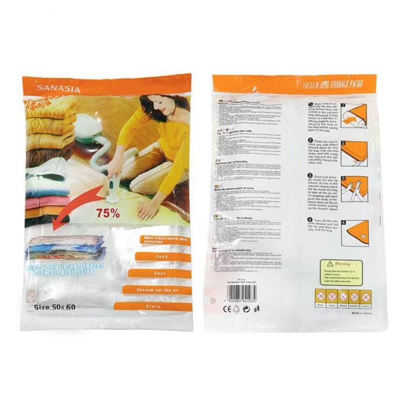 Вакуумный пакет с клапаном Homelike для хранения одежды 50х60см купить, цены в Москве на goods.ru