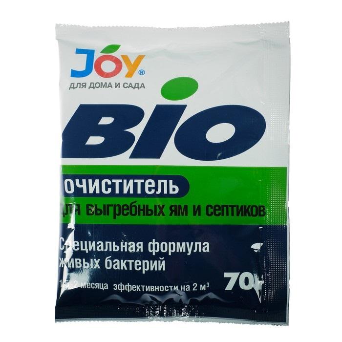 Биоочиститель для выгребных ям и септиков Joy 70 г купить, цены в Москве на goods.ru