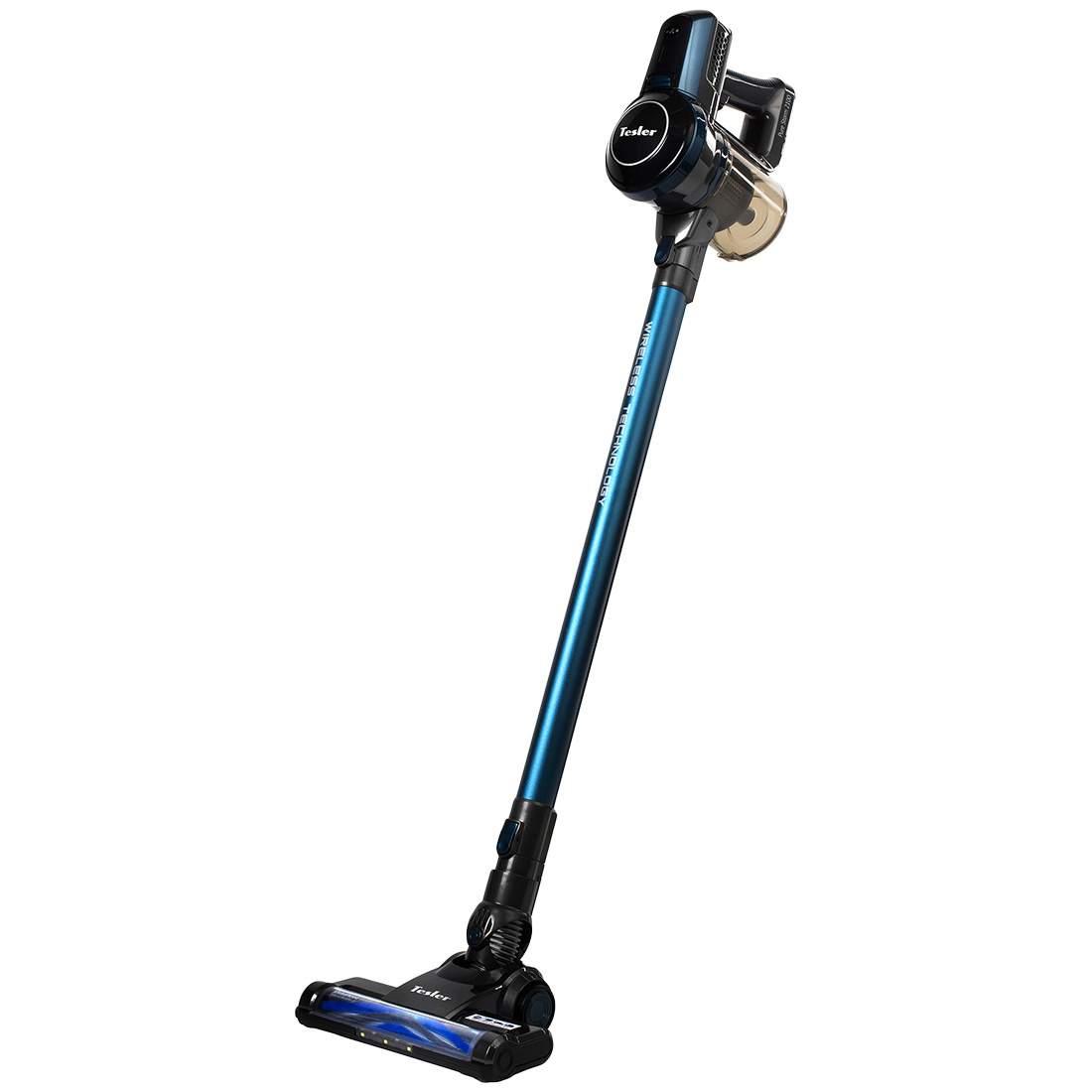 Вертикальный пылесос Tesler Pure Storm 2100 Grey/Blue - характеристики, техническое описание - маркетплейс goods