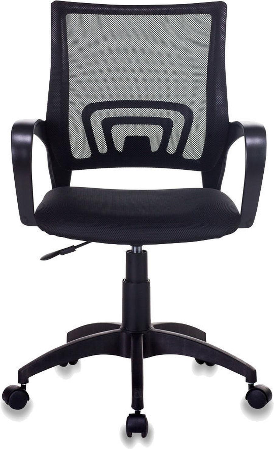 Офисное кресло KC-1LT/Сиденье ткань TW-11 (черная)/Cпинка сетка TW-01 (черная) купить, цены в Москве на goods.ru