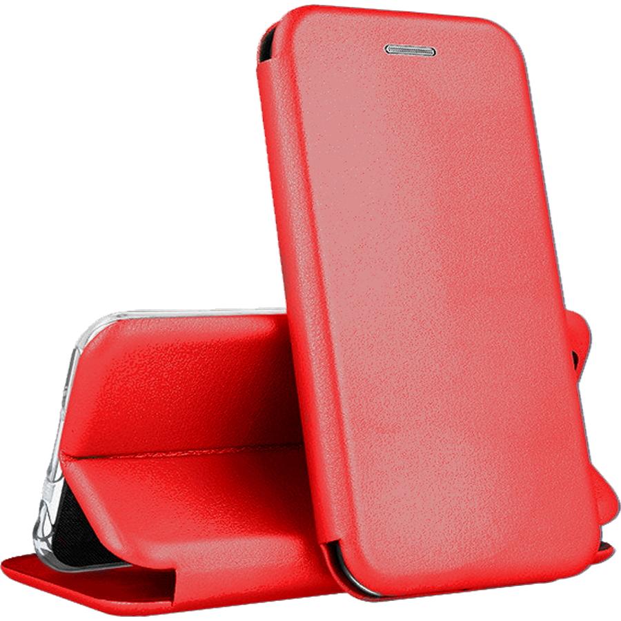 Чехол книжка для iPhone 12 Mini / для Айфон 12 Мини / красный, купить в Москве, цены в интернет-магазинах на sbermegamarket.ru