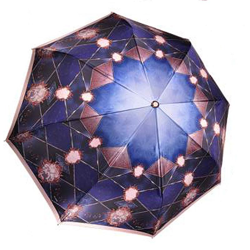 Купить зонт-автомат Три Слона 100-S-05 синий, цены в Москве на goods.ru