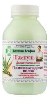 Аптечка агафьи шампунь против выпадения волос