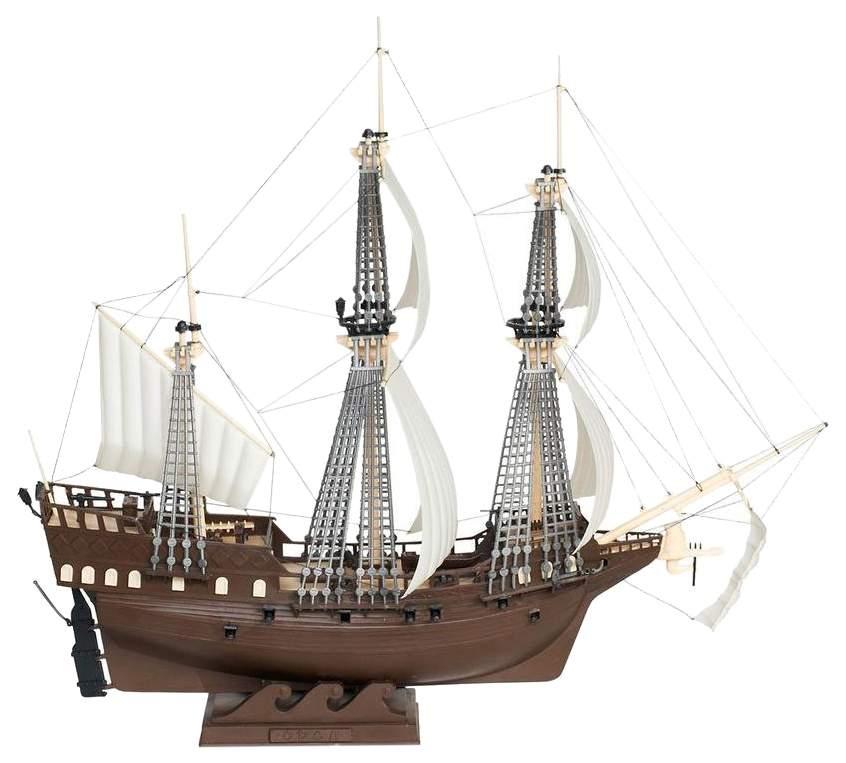 Купить сборная модель-копия Парусный военный корабль Орел Огонек, цены в Москве на goods.ru