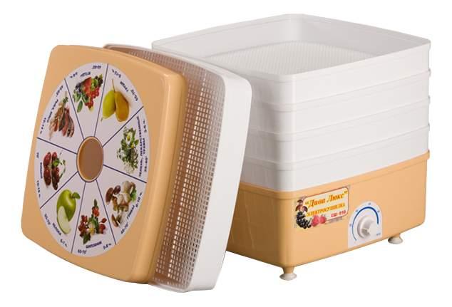 Сушилка для овощей и фруктов Ротор Дива Люкс СШ-010, купить в Москве, цены в интернет-магазинах на goods.ru