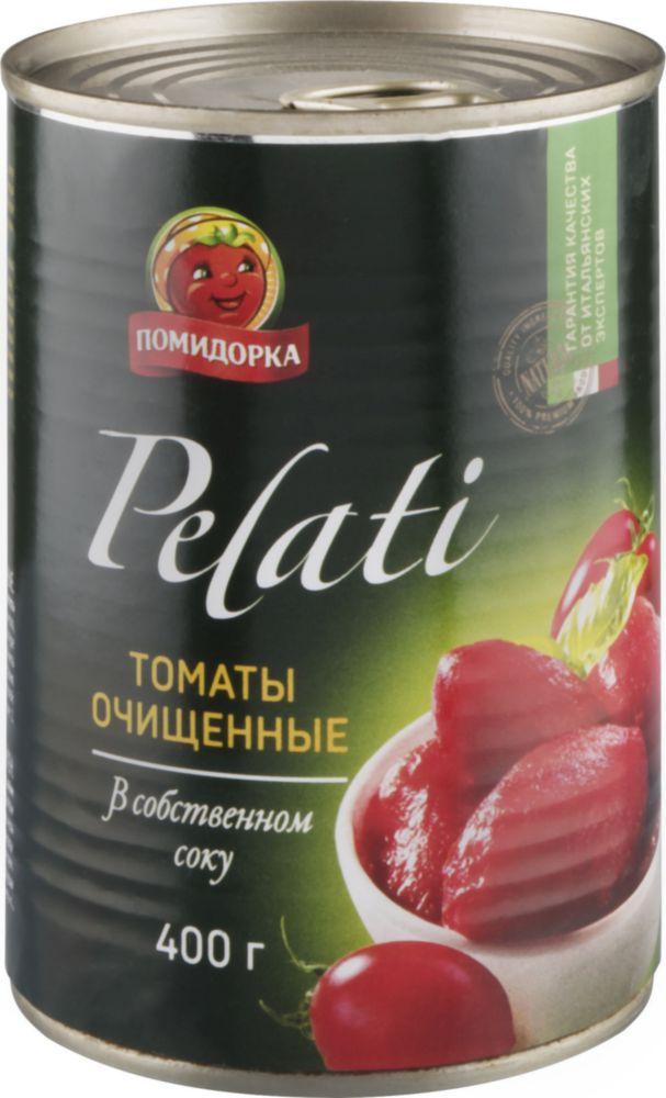 Купить томаты в собственном соку Помидорка очищенные 425 мл, цены в Москве на goods.ru